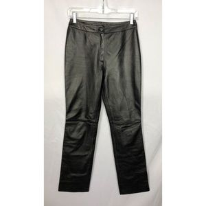 Michael Hoban North Beach Leather Pants Size 4